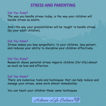 Stress and Parenting