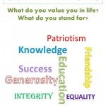 What do you value you in life